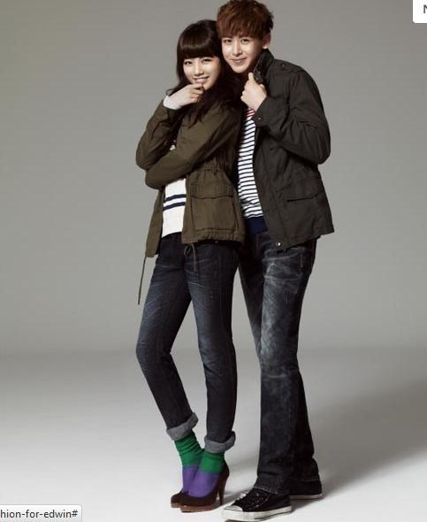 Miss A và Nickhun năng động với thời trang Edwin - ảnh 5