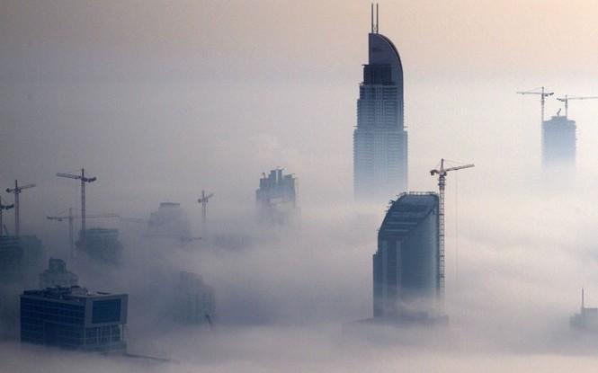 Thành phố Dubai chìm đắm trong sương mù - ảnh 5