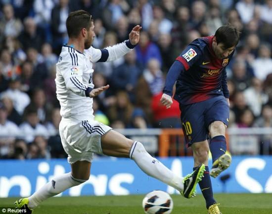 Messi nổ súng tại Siêu kinh điển