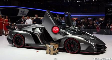 Nghe tiếng gầm 'cực hiếm' của Lamborghini Veneno - ảnh 1