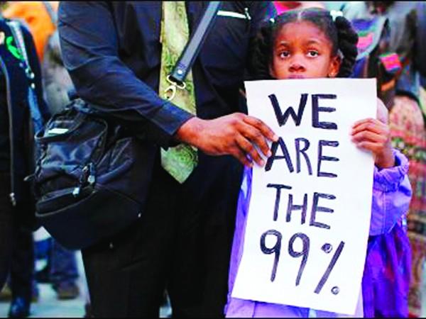 Chuyên gia J.Sachs cho rằng, người giàu ở Mỹ không lo cho 99% dân số còn lại           Ảnh: T.L
