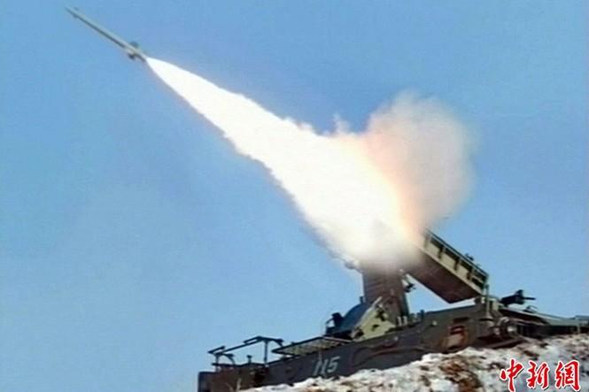 Hình ảnh vũ khí của Triều Tiên tập trận hôm 20/3