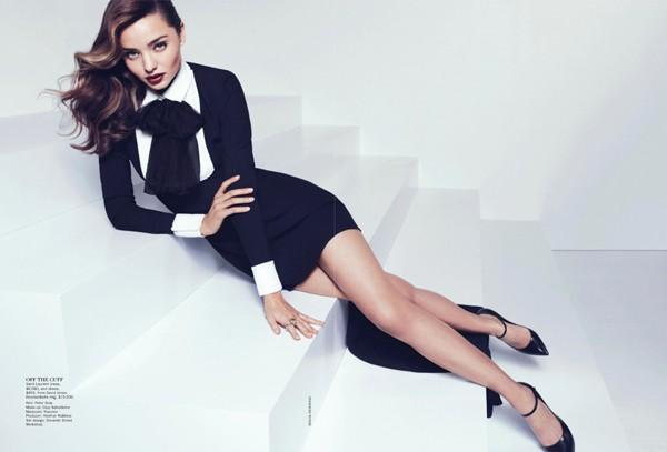 'Thiên thần' Miranda Kerr nóng bỏng trên Vogue - ảnh 6
