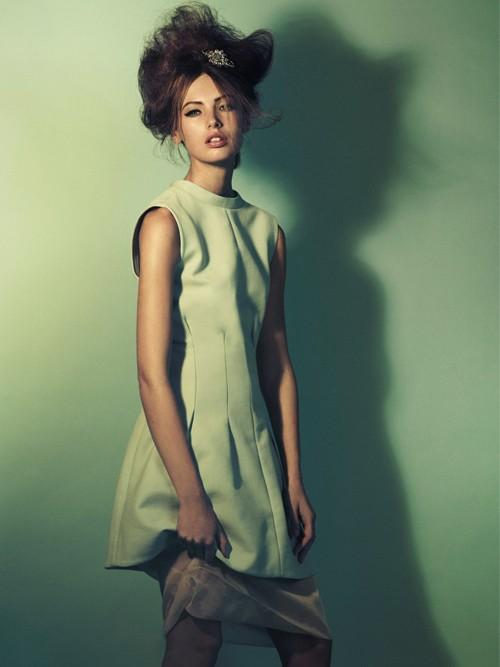Nét đẹp cổ điển và hiện đại của 'Kate Moss' thứ hai - ảnh 9