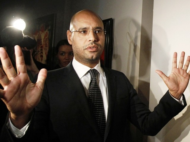 Con trai ông Gadhafi thương lượng với tòa án quốc tế - ảnh 1