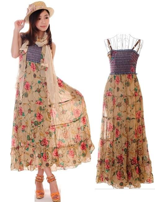Váy maxi tung tăng đón nắng hè - ảnh 7