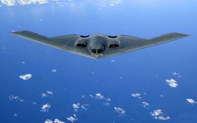 Máy bay ném bom tàng hình B-2 có kiểu dáng cực kỳ độc đáo