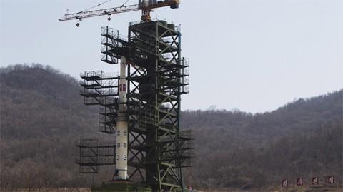 Tên lửa Unha3 của Triều Tiên