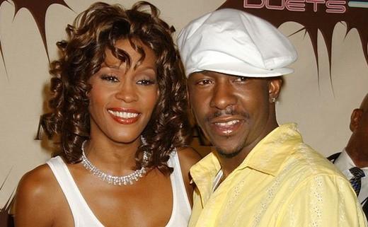 Whitney và chồng cũ Bobby Brown
