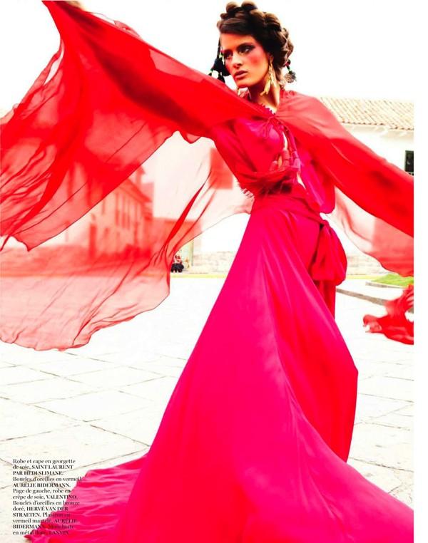 Bộ đôi siêu mẫu nóng bỏng trên Vogue Pháp - ảnh 3