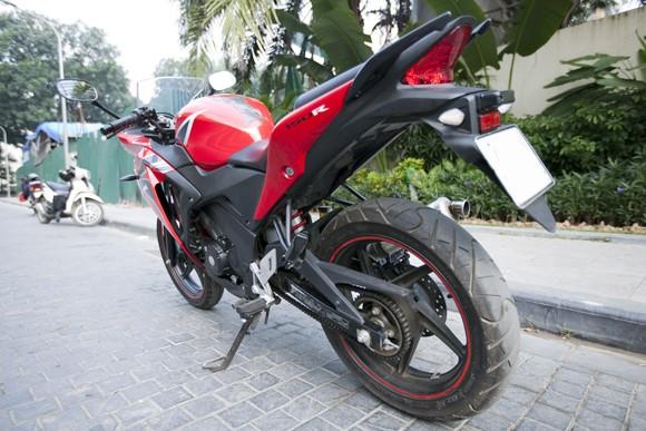 Honda CBR150R 2011: Xe đua 150cc mạnh mẽ - ảnh 8