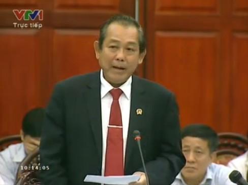 Chánh án TA NDTC Nguyễn Hòa Bình