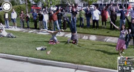 Trồng cây chuối trước trụ sở Google