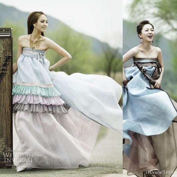 Quyến rũ trang phục cưới Hanbok hiện đại - ảnh 5