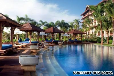 Khu nghỉ dưỡng Ritz-Carlton Sanya, tỉnh Hải Nam, Trung Quốc