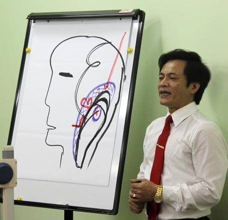 Thạc sĩ Quân giảng giải về bộ não con người