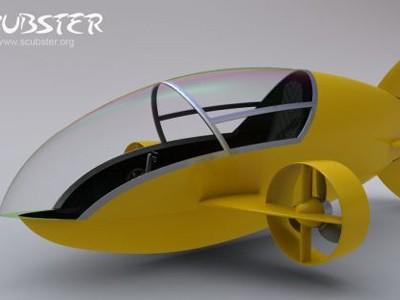 Tàu ngầm mini đạp chân Scubster
