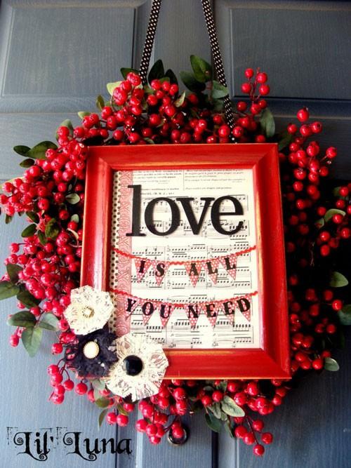 Những ý tưởng trang trí lãng mạn cho Valentine - ảnh 14