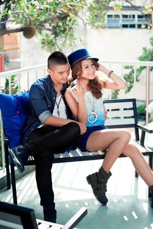 Hotgirl Chi Pu tình tứ bên hotboy Cường Seven - ảnh 1