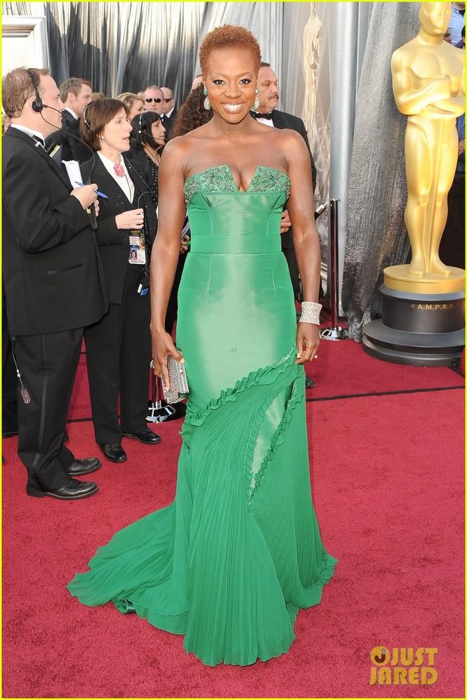 Diễn viên Viola Davis - đề cử nữ chính với vai diễn trong phim The Help