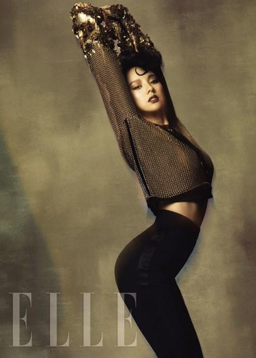 Lee Hyori quyến rũ ở mọi góc nhìn - ảnh 1