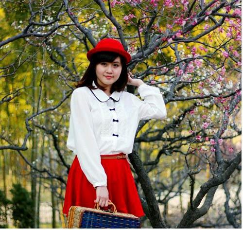 Nữ sinh Việt xinh nhất tại xứ sở hoa anh đào - ảnh 9