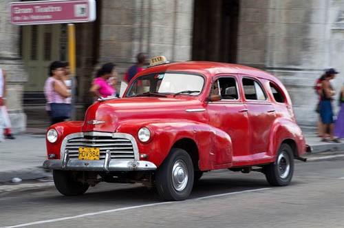 Xế cổ tại thủ đô Cuba - ảnh 4