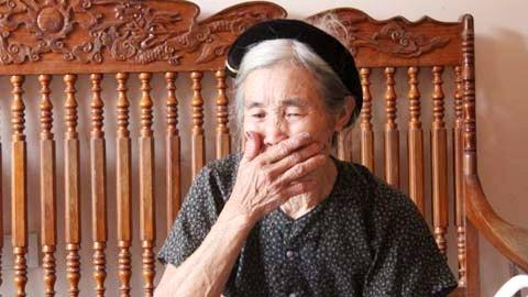 Bà Nguyễn Thị Đằng bà ngoại của Đào Văn Tài đến giờ vẫn không hiểu vì sao cháu mình lại gây ra tội ác tày trời đến thế