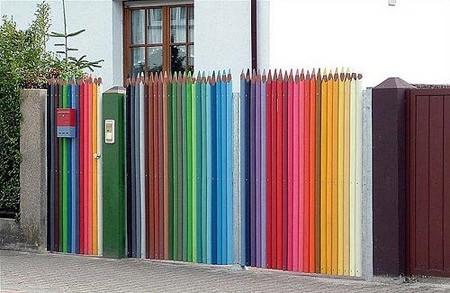 Những kiểu hàng rào độc đáo và sáng tạo nhất - ảnh 1