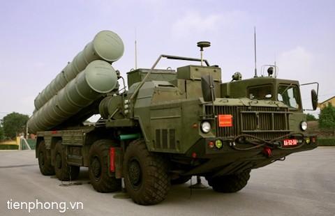 Hệ thống tên lửa phòng không hiện đại S-300PMU-1 do Đoàn Tên lửa Phòng không 64, Sư đoàn 361 (Quân chủng Phòng không - Không quân) quản lý, huấn luyện, sẵn sàng chiến đấu bảo vệ bầu trời Tổ quốc.
