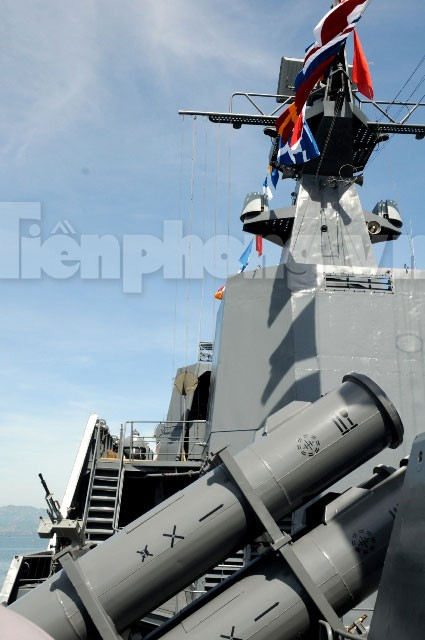 Khám phá uy lực chiến hạm Lý Thái Tổ - ảnh 8