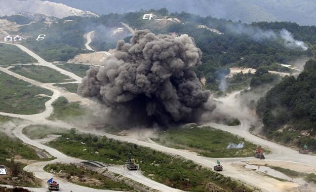 Bình Nhưỡng cho rằng, cuộc tập trận chung này là hành động diễn tập xâm lược nhằm vào nước này