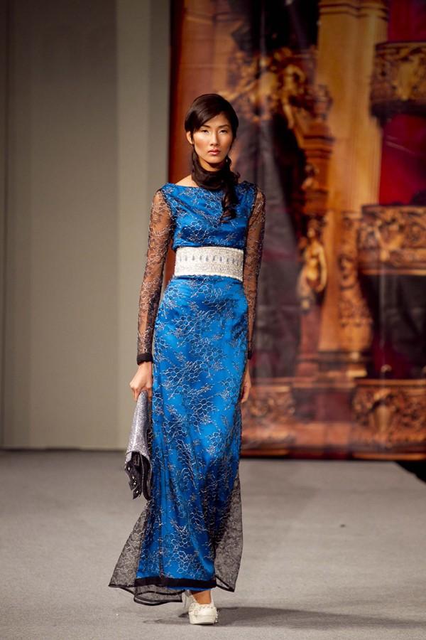 Hoàng Thùy lọt mắt xanh 'cha đẻ' Couture Fashion Week - ảnh 8