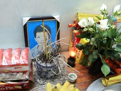 Di ảnh của cậu học trò xấu số Nguyễn Hoài Trung