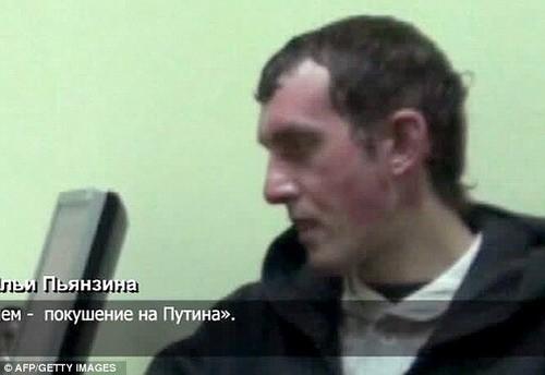 Video bắt kẻ âm mưu ám sát Thủ tướng Nga Putin - ảnh 4