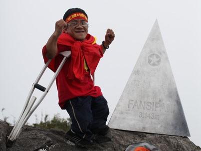 Sơn Lâm tại đỉnh Fansipan -