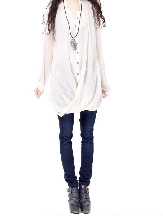 Biến hóa 'cực chất' với áo sơ mi trắng - ảnh 5