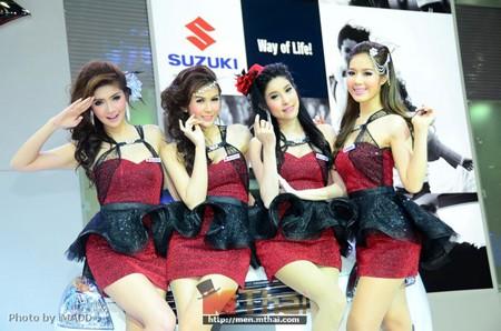 Nhan sắc ngập tràn triển lãm Bangkok 2013 - ảnh 8