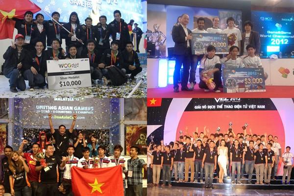 Năm 2012 - một năm vàng của eSports Việt