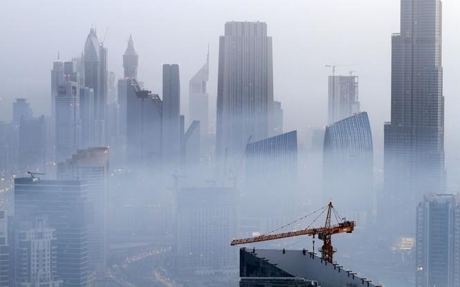Thành phố Dubai chìm đắm trong sương mù - ảnh 11