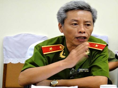 Thiếu tướng Phan Anh Minh - Ảnh: Đàm Huy