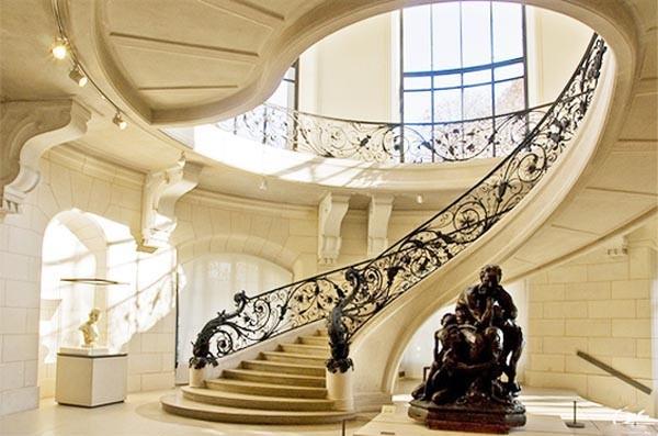 Những mẫu cầu thang đẹp lung linh - ảnh 1
