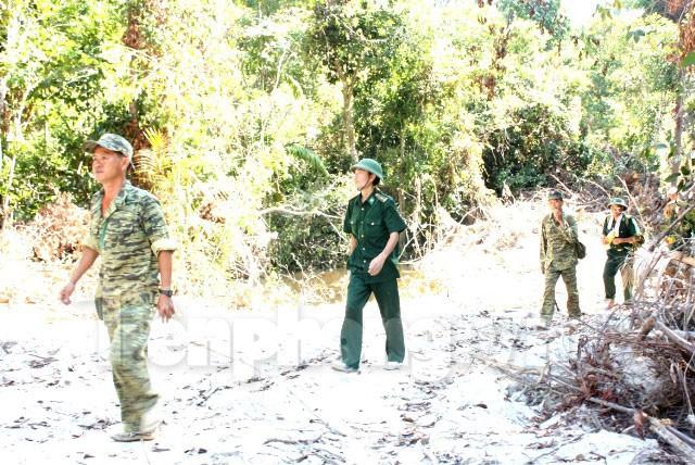 Bộ đội Biên phòng trên đường tuần tra