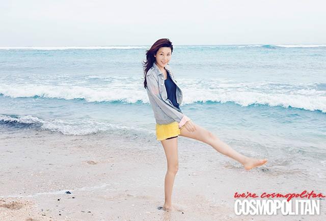 Kim Ha Neul rạng rỡ đón nắng hè tại Bali - ảnh 2