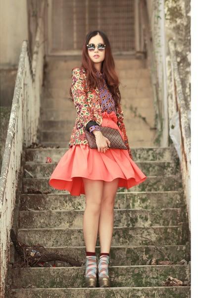 Mix đồ chất như blogger thời trang Hồng Kông - ảnh 24