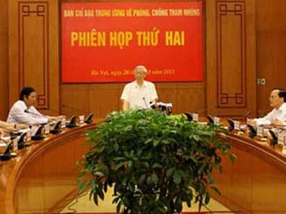 Tổng Bí thư Nguyễn Phú Trọng phát biểu tại hội nghị ngày 26/3/2013