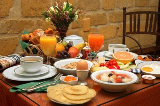 bữa sáng giàu dinh dưỡng