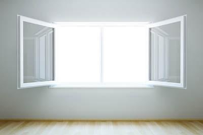 Mở cửa phòng đón ánh nắng ban mai