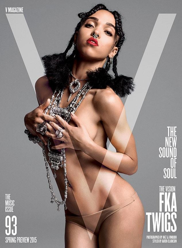 Bạn gái sao 'Ma cà rồng' bán nude trên tạp chí - ảnh 1