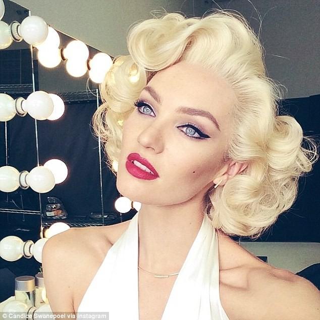 'Thiên thần nội y' hóa thân thành Marilyn Monroe đầy mê hoặc - ảnh 1
